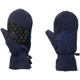 Jack Wolfskin Fleece Mittens Kids midnight blue